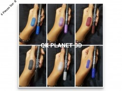 eye shadow pencil 6 pieces b